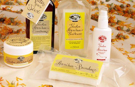 Arnika Produkte